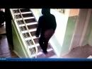 Грабитель попал на камеру