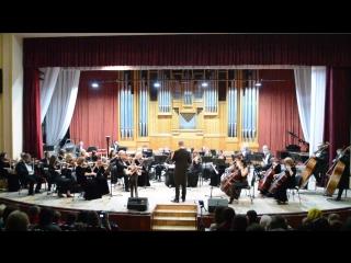 Воюшин Игорь О. Ридинг Концерт с оркестром для скрипки h-moll 1 ч. преп. Челышева Ю.Е.