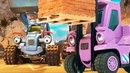 Мультик Стройка про Синий Трактор. Как устроить веселье