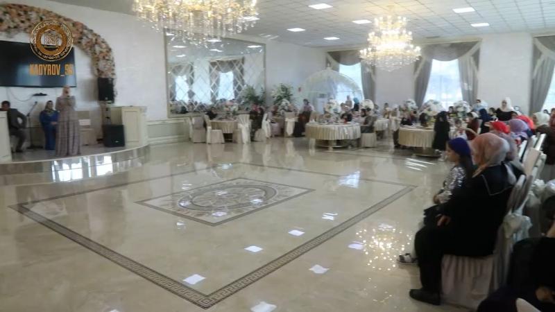 Мы с Медни Мусаевной побывали на свадьбе Рахима Мажидова и Арины Каимовой в селе Центарой