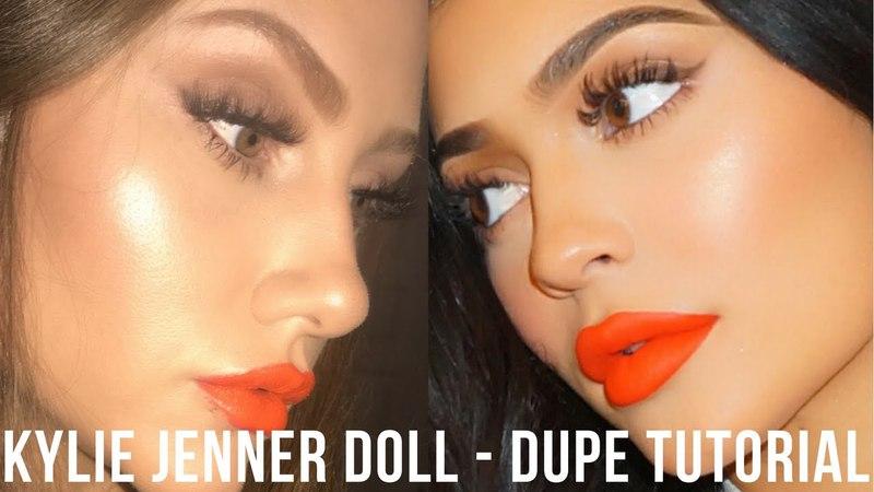 Kylie Jenner Makeup Tutorial - Doll Lipstick Dupe