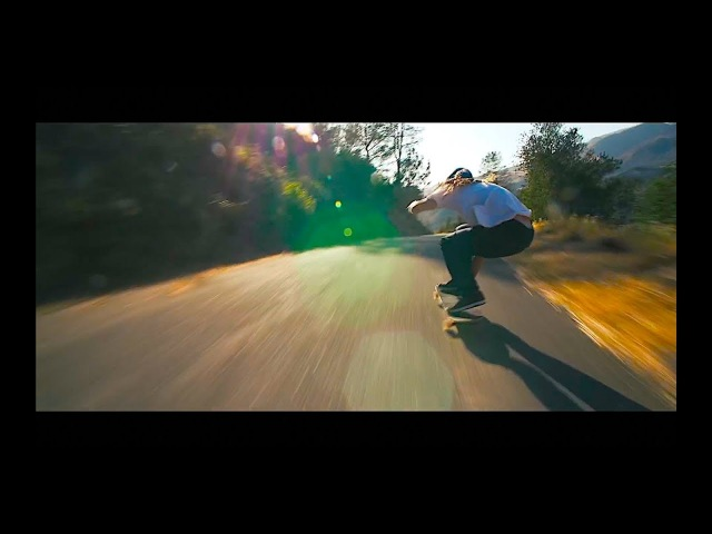 Crazy downhill longoboarding run with William Royce