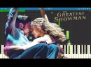Rewrite The Stars Piano Tutorial The Greatest Showman Soundtrack Zac Efron Zendaya