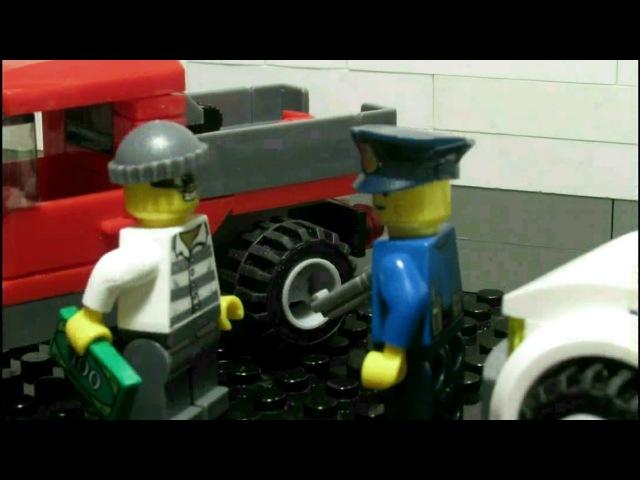Lego the arrest of the hijacker Лего задержание угонщика