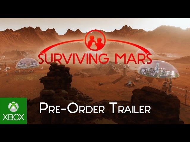 Surviving Mars - Our Colony Pre Order Trailer