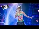 Isabella Lucía canta ¿Qué Será de Ti Audiciones a ciegas La Voz Kids Colombia 2018