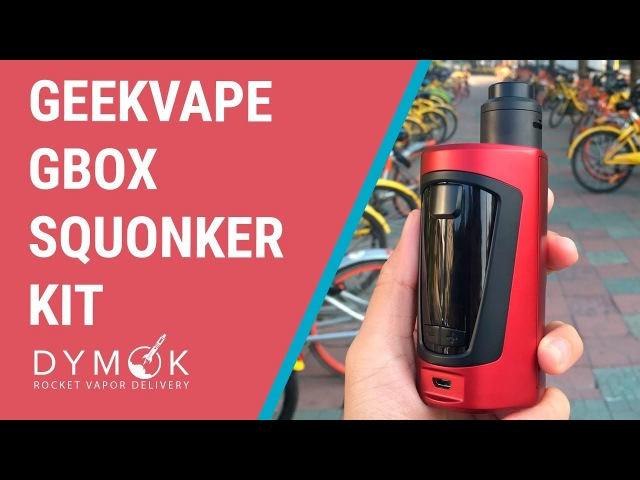 Geekvape GBOX Squonker kit обзор намотка мощный сквонк