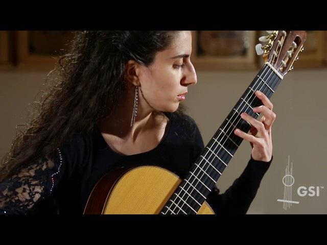 Tarrega Gran Jota - Lilit Mardiyan plays 1998 Paco Santiago Marin