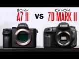 Sony A7 II Vs Canon 7D Mark ii Camera Comparison