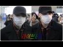[liveen TV] 김재중 (Kim Jaejoong), 마스크 사이로 비추는 마력의 눈빛 (인천공항)
