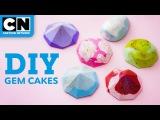 How To Make Steven Universe Mini Gem Cakes   Lets Build