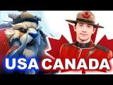 Team USA vs CANADA - NORTH AMERICA - WESG 2018 DOTA 2