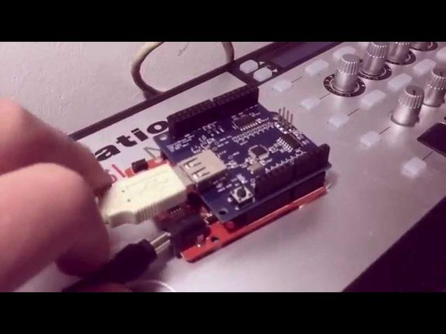 [BLIDino] Arduino MIDI over Bluetooth with iOS and OSX