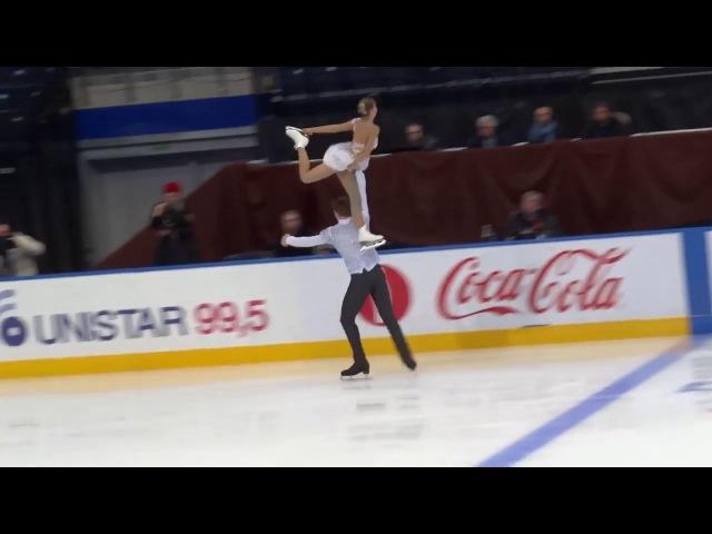 2017.10.29 Minsk Ice Star Pairs_ A. BOIKOVA-D.KOZLOVSKII_FS