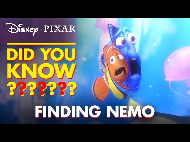 Fun Facts Easter Eggs From Finding Nemo | Pixar Did You Know? by Disney•Pixar