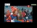 Интервью Дарьи Домрачевой после эстафеты!