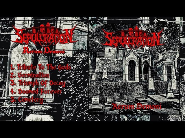 SEPULCRATION - Rerum Demoni (Full EP Stream-2017)