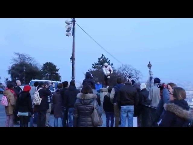 Футбольный виртуоз на монмарт - часть 2 (Париж)