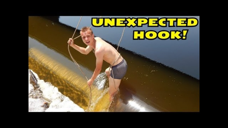 UNEXPECTEDLY HOOKED THE SEARCH MAGNET! EXTREME FISHING ON THE LOCK! CrazySeeker!