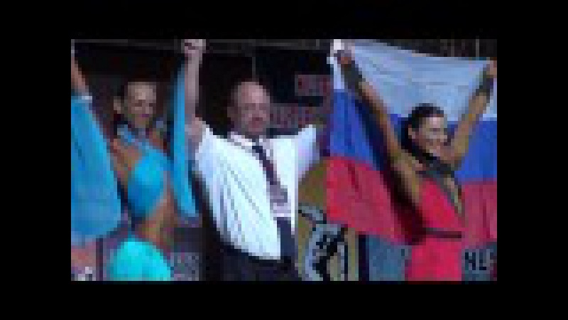 Ms. Fitness (final, victory ceremony 3) at NAC Worlds 2013
