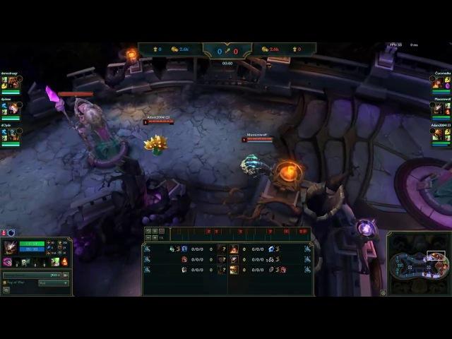 Лига легенд (League of Legends) - С играл как профессионал