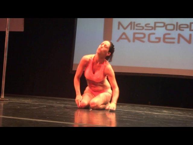 Carlos de Brasil en Miss Pole Argentina 2012 Categoria Hombres 1er Lugar ТОКАРНЫЙ СТАНОК