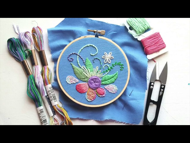Top Modern Hand Embroidery Stitches FAST VERSION
