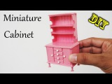 How To Make Realistic Miniature Cabinet Furniture #2 | Handmade Dollhouse