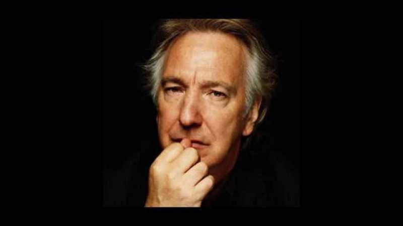 Alan Rickman - My mistress eyes are nothing like the sun (Sonnet 130)