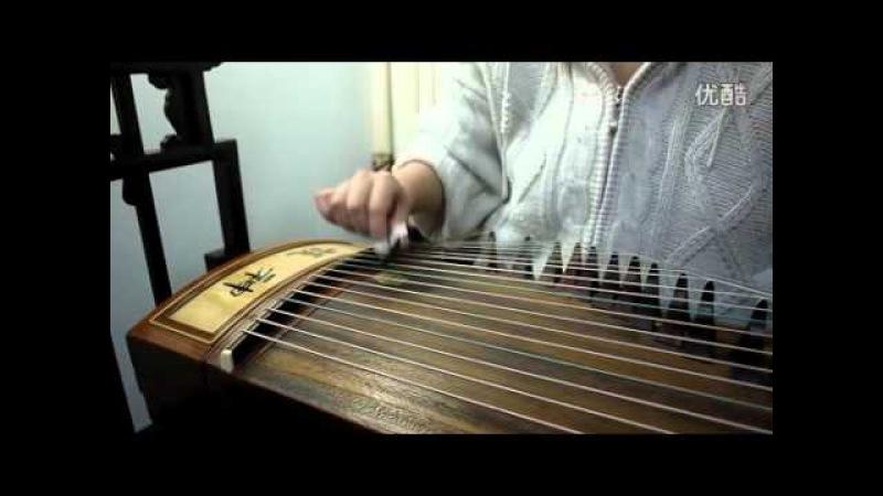 Ievan polkka on Chinese guitar(Zheng)
