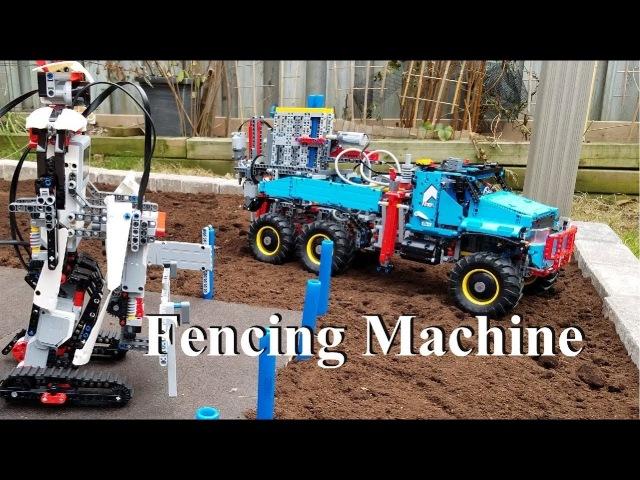 Fencing Machine - Lego Technic 42070 6x6 All Terrain Tow Truck