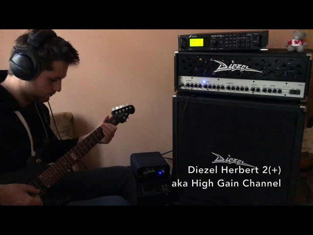 Diezel Herbert vs Axe FX II Raw comparison and Power Amp Influence on tone