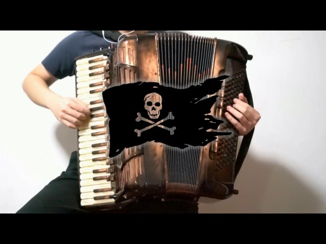 Accordion Pirates of the Caribbean He's a Pirate