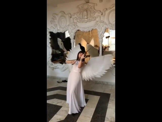 крылья ангела скрипачки ЛисьяМастерская