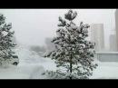 Зимняя сказка.Снегопад.г.Новосибирск.м-н Весенний.16.01.2018