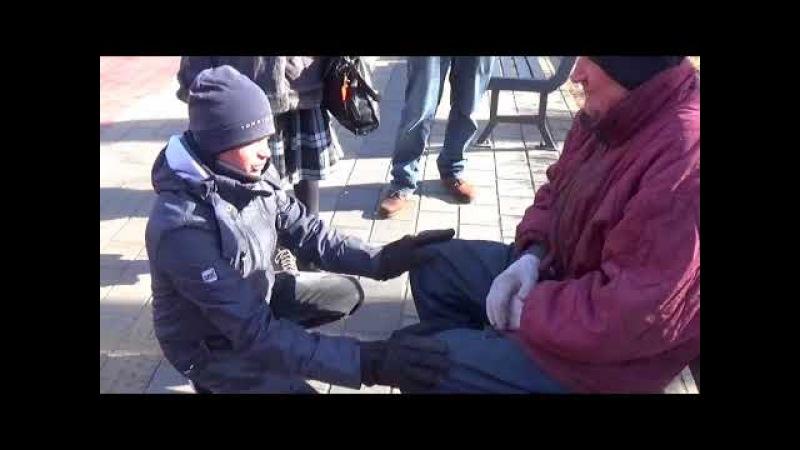 Ielu evaņģelizācija Rīgā ar Ruslanu Bogalubimij no Ukrainas