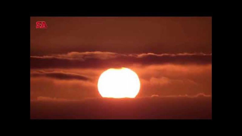 [Аллаh Велик] Облака перед солнцем и за ним часть 2