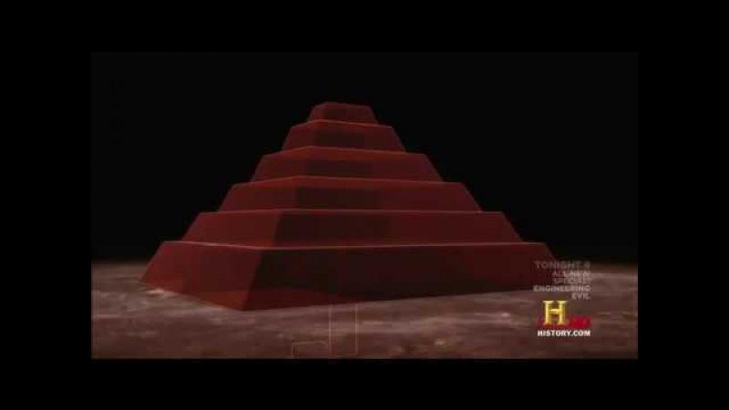 History Потерянная пирамида в Гизе The Lost Pyramid