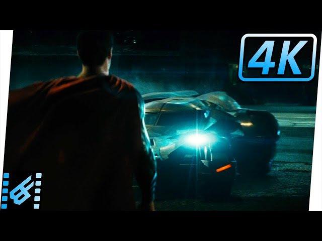 Batmobile Chase / Do You Bleed Scene   Batman v Superman Dawn of Justice (2016) Movie Clip