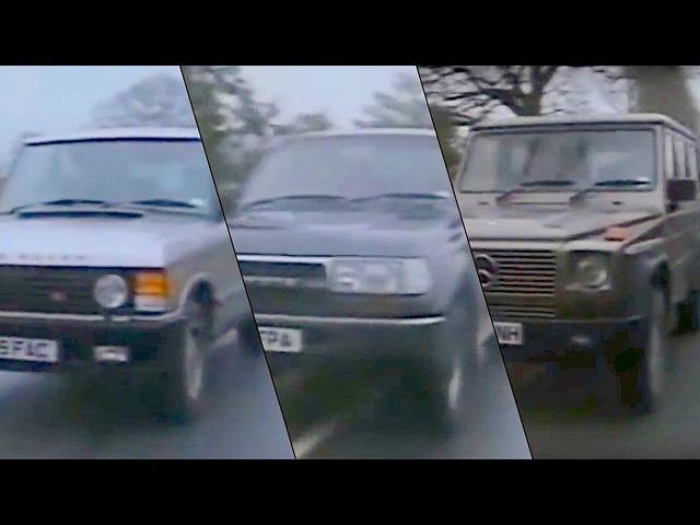 Старый Топ Гир На Русском Mercedes-Benz G-Class, Toyota Land Cruiser, Range Rover