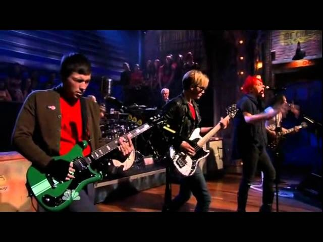 My Chemical Romance - The Kids From Yesterday LIVE on Jimmy Fallon