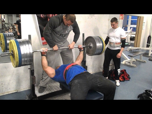 Zahir Khudayarov 250 x 1 Bench Press
