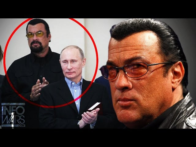 EXCLUSIVE: Steven Seagal Exposes Deep State War VS America/His Relationship With Putin: FULL INTERV.
