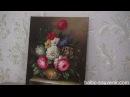 ЦВЕТОЧНАЯ ФАНТАЗИЯ I,II, картина 50х60см