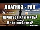 «ДИАГНОЗ - РАК. ЛЕЧИТЬСЯ ИЛИ ЖИТЬ?» Борис Гринблат/ГЛАВА I/ В ЧЁМ ПРОБЛЕМА?