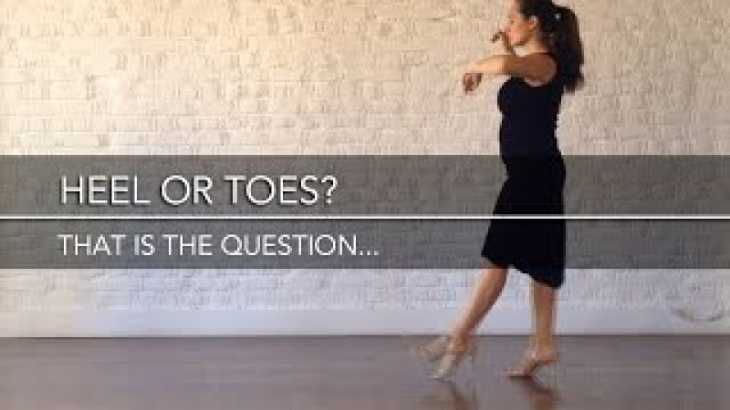Heel or toes that is the question ... - Mini Practice (39)