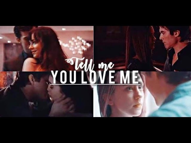 ¨Tell me you love me.. that you want to spend the rest of your life with me¨ -Multifandom