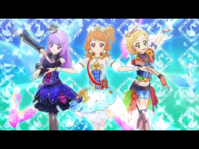 (HD)Aikatsu! -「Pretty Pretty」 (Episode 126) アイカツ Ep 126 大空あかり 氷上 スミレ 新条ひなき