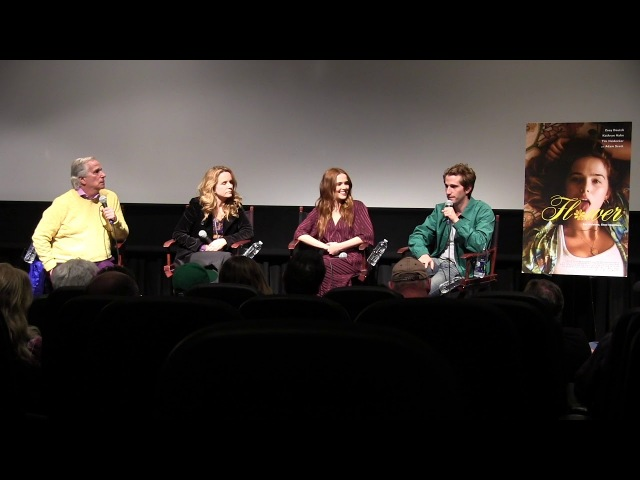 Flower - Max Winkler Zoey Deutch QA (Moderated by Henry Winkler and Lea Thompson)
