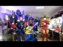 Как делают костюмы роботов трансформеров в мастерской AnyRobots ПрацюйТанцюй